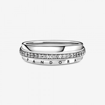 Triple Band Pavé Ring