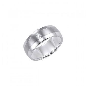 9MM Tungsten Diamond Ring 21-2211BC-L.01