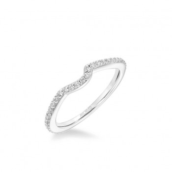 Zola Contemporary Diamond Wedding Band