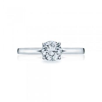 Simply Tacori Platinum Diamond Solitaire Engagement Ring 50RD6
