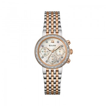 Bulova Diamonds Maiden Lane Collection 98W215