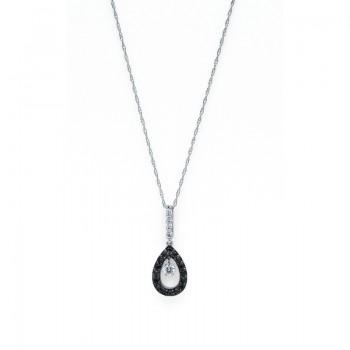 Shimmering Diamonds® Tear Drop Pendant G7026