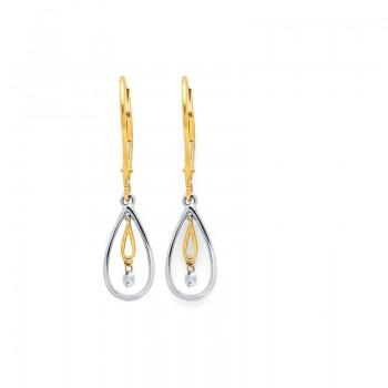 Shimmering Diamonds® Tear Drop Earrings G7534