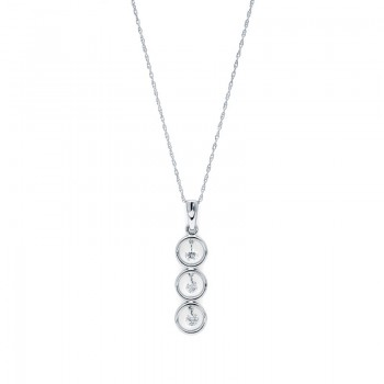 Shimmering Diamonds® Stacked Circles Pendant G8103