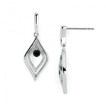 Shimmering Diamonds® Tear Drop Earrings SD13E10BK