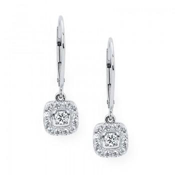 Shimmering Diamonds® Square Earrings SD13E29/.50