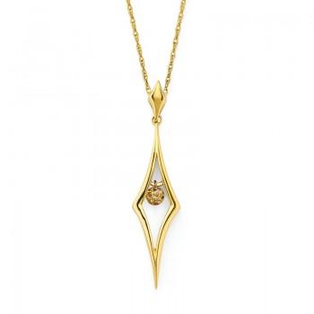 Shimmering Diamonds® North Star Pendant SD13P12BR