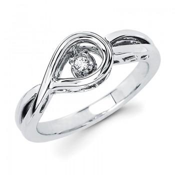 Shimmering Diamonds® Tear Drop Ring SD14F80