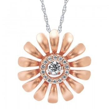 Shimmering Diamonds® Daisy Pendant SD15P08