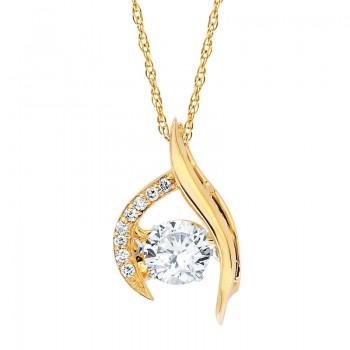 Shimmering Diamonds® Pendant SD15P83/.75