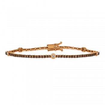 14K Strawberry Gold® Bracelet