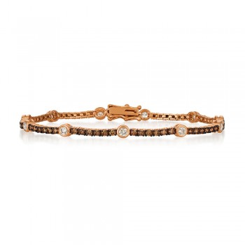 Le Vian 14K Strawberry Gold® Vanilla Diamond Diamond Bracelet DEKI 702