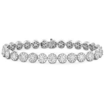 Fulfillment Diamond Line Bracelet