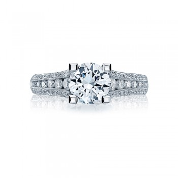 Tacori Crescent Platinum Engagement Ring HT2513RD7512X
