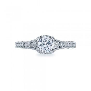 Tacori Crescent Platinum Engagement Ring HT2515RD5512X