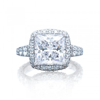 Tacori HT2624PR9 Platinum RoyalT Engagement Ring
