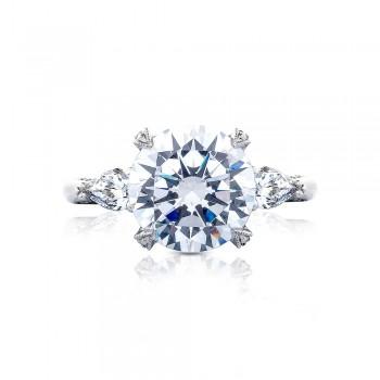 HT2628RD10 Platinum Tacori RoyalT Engagement Ring