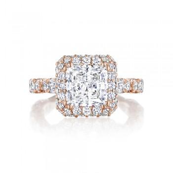 Tacori HT2653PR75PK 18 Karat RoyalT Engagement Ring