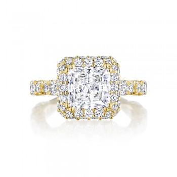 Tacori HT2653PR75Y 18 Karat RoyalT Engagement Ring