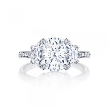 HT2656RD95 Platinum Tacori RoyalT Engagement Ring