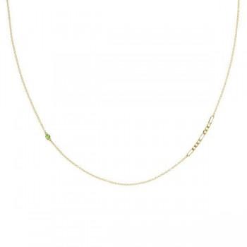 It Figaros Gem Necklace w/ Peridot