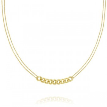 Large Curb Link Necklace