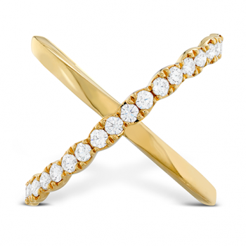 Lorelei Criss Cross Ring