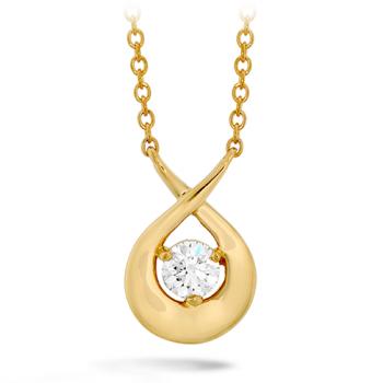 Optima Single Diamond Pendant