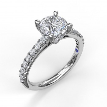 Timeless Single Row Engagement Ring