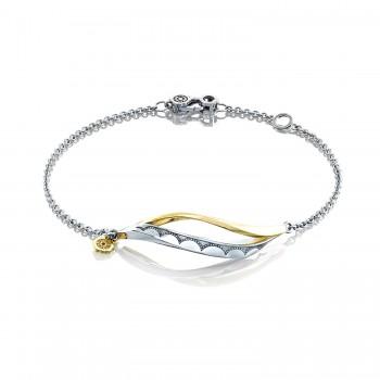 Single Wave Bracelet