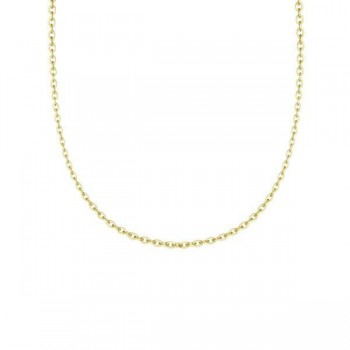 Yellow Gold Chain - 18 inches