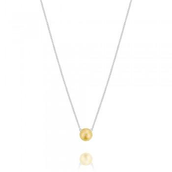Yellow Gold Dew Drop Pendant SN211YB