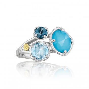Budding Brilliance Ring featuring Assorted Gemstones