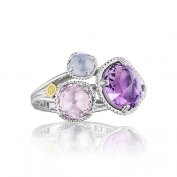 Budding Brilliance Ring featuring Assorted Gemstones sr137130126