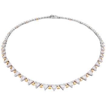 Triplicity Line Necklace