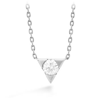Triplicity Single Diamond Pendant