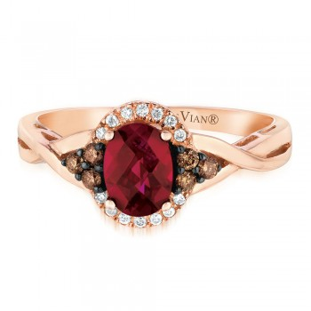 Le Vian 14K Strawberry Gold® Raspberry Rhodolite Ring WJAI 142