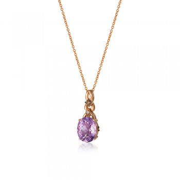 Le Vian 14K Strawberry Gold® Grape Amethyst Pendant WJBJ 106