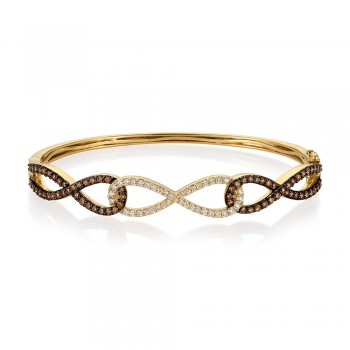 14K Honey Gold® Bangle