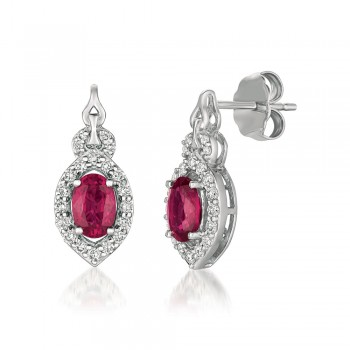 Le Vian 14K Vanilla Gold® Passion Ruby Earring YQXM 38