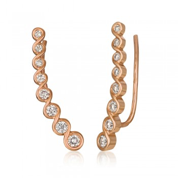 14K Strawberry Gold® Earring